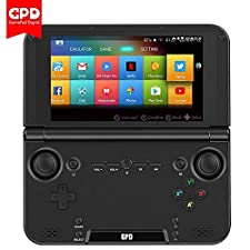 "GPD XD Plus [2019 HW Update] Android 7.0 Handheld Game Console Mediatek MT8176 Hexa-Core 4GB RAM 32GB ROM 5"" Touchscreen HD IPS Screen"