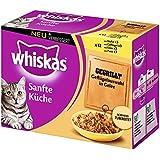 Whiskas Sanfte Küche Katzenfutter gegrilltes Geflügel, 12 x 85 g
