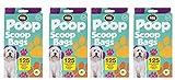 Pat de la pala de caca perro bolsas de basura con aroma de limón desechables bolsas por mundo de mascota–Pack de 500