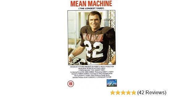 Mean Machine (The Longest Yard)  VHS   1974   Burt Reynolds bbbe532a5