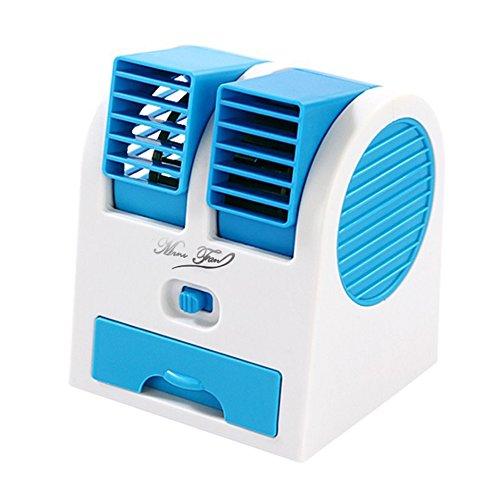 MJW Ventilador Sin Aire De La Turbina del Ventilador De La Fan Estupenda del Coche del Ventilador del Aire Acondicionado Sin Aire 11 * 11.8 * 15Cm