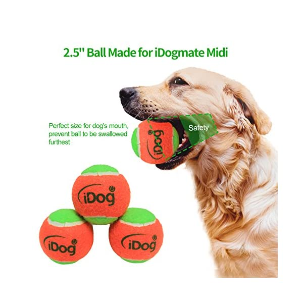 iDogmate Big Dog Ball Launcher, Interactive & Automatic Ball Launcher Remote Control Tennis Ball Launcher with Rechargeable Batteries for Big Dogs 6