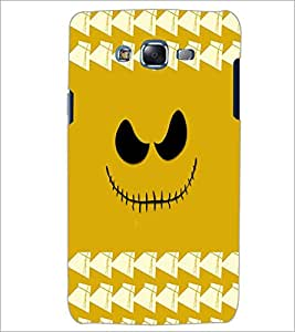 PrintDhaba Scary Smily D-3878 Back Case Cover for SAMSUNG GALAXY ON 5 (Multi-Coloured)