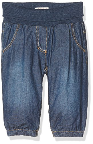 Esprit Kids Unisex Baby Jeanshose Jeans, Blau (Blue Medium Wash 902), One size (Herstellergröße: 68)