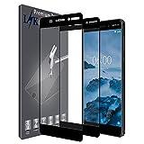 L&K [2 Pack Nokia 6.1/Nokia 6 2018 Pellicola Protettiva, LK [Copertura Completa] Protezione Schermo Vetro Temperato Screen Protector [Garanzia di Sostituzione a Vita] - Nero