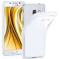 Frosted Case pour Samsung Galaxy A3 (2016) | Silicone Coque en TPU | Housse Téléphone portable Étui Bumper transparente en Crystal-Clear
