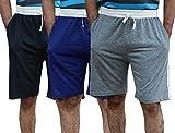 #6: ELK Mens's Cotton Shorts Trouser Clothing 3 Color Set Combo