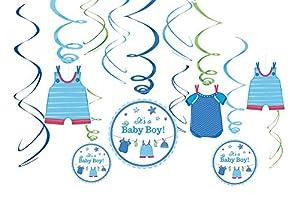 Amscan 671491decoraciones de remolino de diseño de Love Boy