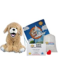 "Make Your Own Stuffed Animal ""Goldie The Lab/Retriever"" - No Sew - Kit With Cute Backpack!"