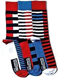 United Oddsocks - 3 Odd Socken für Herren - Luke