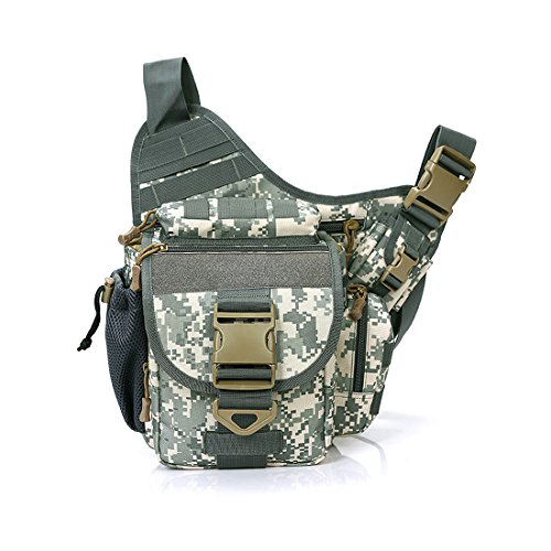 Outdoor Sports Single Schulter Rucksack Militär Tasche, Umhängetasche Messenger Sling Staubbeutel, Herren, Camo 2 Single-shoulder Bag Anime
