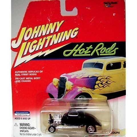 JOHNNY LIGHTNING HOT RODS 1934 COUPE 1:64 DIE CAST METAL by Johnny Lightning