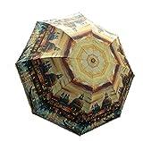 Venedig Design Kundenspezifische Automation Faltbarer Sonnenschirm