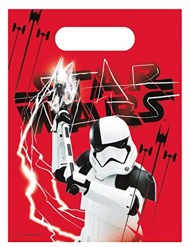 Generique 6 Geschenk-Taschen Star Wars Die letzten Jedi