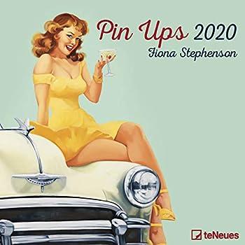 Pin Ups 2020 Square Wall Calendar