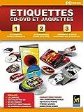 Etiquettes CD-DVD et Jaquettes
