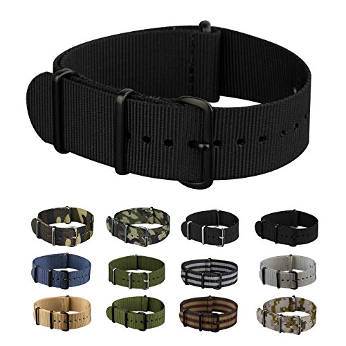 infantry-military-black-nato-watch-band-nylon-fabric-strap-g10-4-rings-20mm-divers-heavy-duty-strong