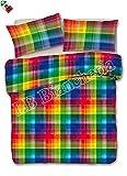 Daunex - Parure Copripiumino colori Arcobaleno