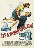 Vintage Frank Capras It 's A Wonderful Life James Stewart un Film Poster/affiche A4/tableau Papier Photo satiné 260 g/m ²