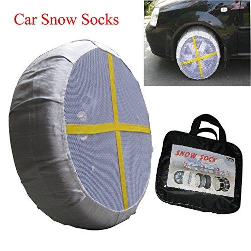 Preisvergleich Produktbild SHADDOCK Angeln® KA anti-snow Socken, Auto Tracks Mud Snow Traction Grip sand Reifen Paar Rad–size77,78,81–Amazing Grip auf Schnee (ein Paar)