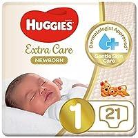 Huggies Newborn, Size 1, 0-5 kg, 21 Diapers