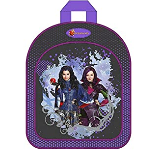 51TDRyZS5sL. SS324  - Descendientes Disney-Mochila 31 cm, diseño de Disney descendientes color morado