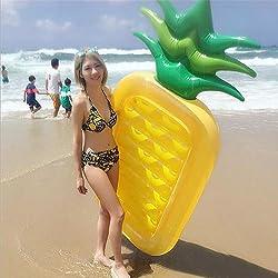 Piña Gigante Inflable Flotador Piscina,Ociosas De La Piscina Fiesta De Natación Al Aire Libre Del Verano Para Los Adultos Niños 188X79cm Ourdream