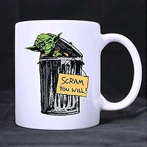 Alien en céramique-Blanc-Tasse Mug Motif citation humoristique en anglais