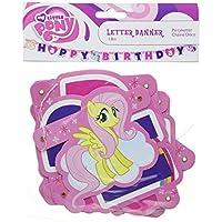 Amscan International My Little Pony Happy Birthday Letter Banner