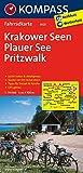 Krakower Seen - Plauer See - Pritzwalk: Fahrradkarte. GPS-genau. 1:70000 (KOMPASS-Fahrradkarten Deutschland, Band 3025)