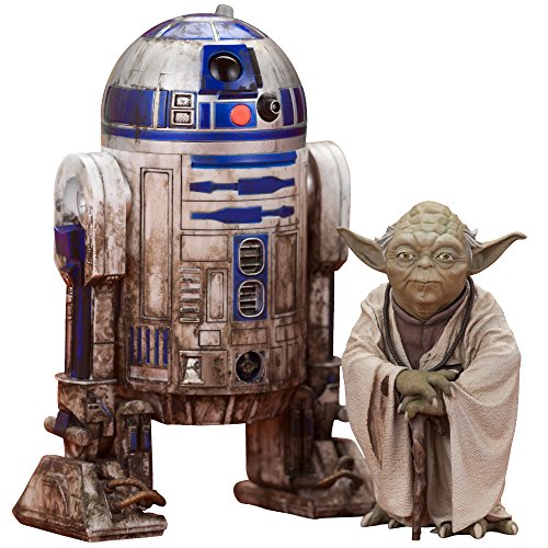 Star Wars Episode V Artfx+ Yoda & R2-D2 Dagobah Pack 1/10