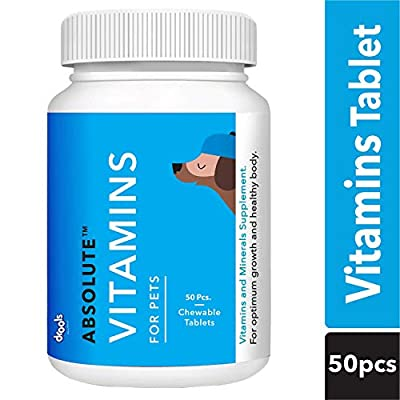 Drools Absolute Vitamin Tablet- Dog Supplement