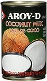 Aroy-D Kokosnussmilch, Fettgehalt: ca. 17%, 12er Pack (12 x 165 ml Packung)