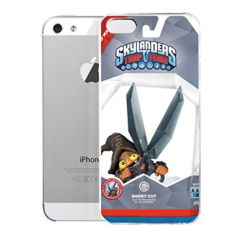 iPhone 5S Case Activisien Activisien Skylanders Trap Team Short Cut Trap Master 87169 Bu0026amph Video Game Companies Of The United States Hard Plastic Cover for iPhone 5 Case