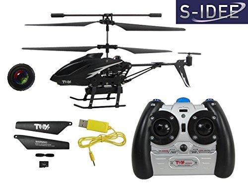 *s-idee 01125 | L6029 2,4 GHz 3,5 Kanal Heli mit Kamera und Foto Spycam RC ferngesteuerter Hubschrauber/Helikopter/Heli mit GYROSCOPE-TECHNIK!!! für INNEN und AUSSEN brandneu mit eingebautem GYRO und KAMERA! FLUGFERTIG!*