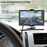 Sat Nav For Cars, LESHP 7 inch GPS Navigation with UK Ireland Europe Maps & Free Lifetime Map Updates,8GB