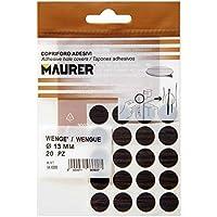 MAURER 5440126 - Tapatornillos Adhesivos Wengue (blíster 20 unidades)