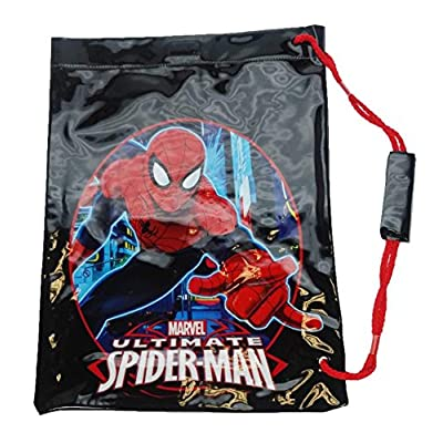 Spiderman Swim Kid's Sports Bag, 42 cm, Black - childrens-sports-bags, childrens-bags