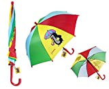 Der Kleine Maulwurf Regenschirm für Kinder ab 4 Jahren