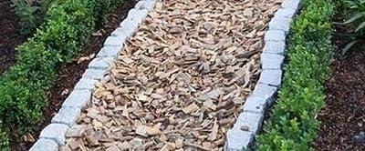 Hackschnitzel * Holzdekor * Häcksel * Mulch - natur - ca. 1600 Liter im BigBag - GRATIS VERSAND
