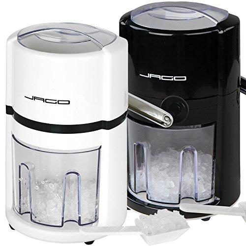 Weiß Manuelle Auswahl (Manuelle Eiscrusher Maschine Eismaschine Eiswürfelmaschine in 2 verschiedenen Farben)