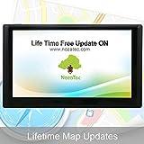 Noza Tec 7 Inch Sat Nav, Car GPS Navigation with UK Ireland Europe Maps & Free Lifetime Map Updates,8GB