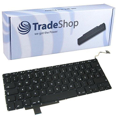 Trade-Shop Premium Laptop-Tastatur / Notebook Keyboard Ersatz Austausch Deutsch QWERTZ für Apple MacBook Pro 17