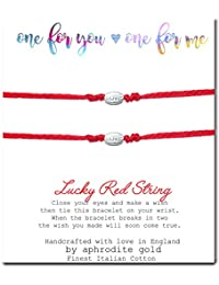 Red String Bracelet One for You One for Me Love Lucky Friendship Protection