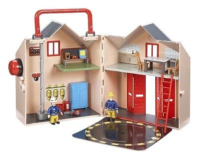 Character Fireman Sam Deluxe Fire Station Playset de Character