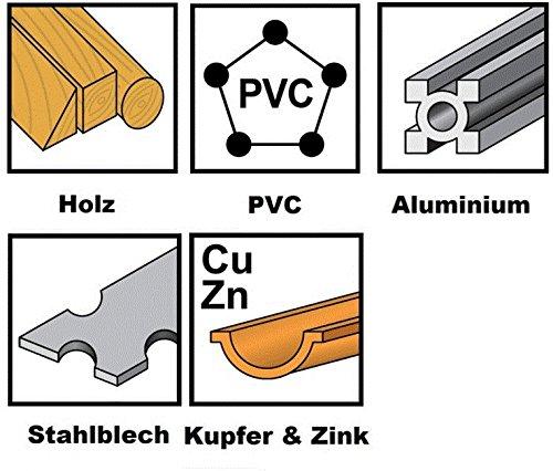 3x Universal Sägeblatt, rund HSS für Bosch PMF 190 E