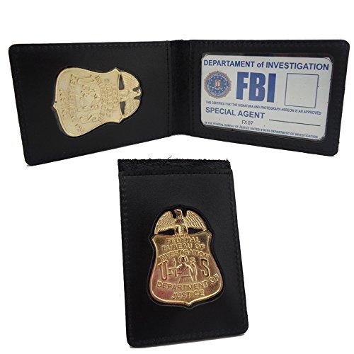 portafoglio-e-badge-fbi