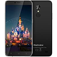 "Offerte Cellulari Blackview A10 Smartphone Dual SIM 3G Android 7.0, 5,0""HD Quad-Core - 2GB RAM + 16GB ROM,2.0MP+5.0MP ,2800mAh Cellulari in Offerta-Nero"