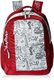 #8: Skybags Helix 29.5 Ltrs Red Casual Backpack (BPHELFS2RED)