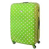 Karry XXL Hartschalen Reise Koffer Trolley TSA 4 Rollen Reisekoffer